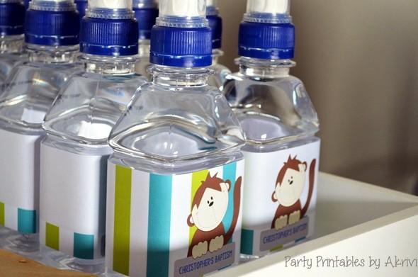 bouteille eau personnalisee bapteme