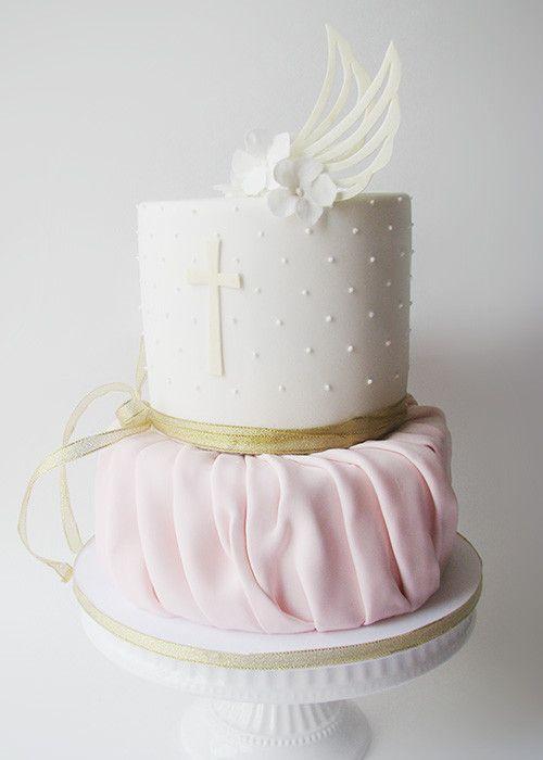 Gâteau de baptême d'ange
