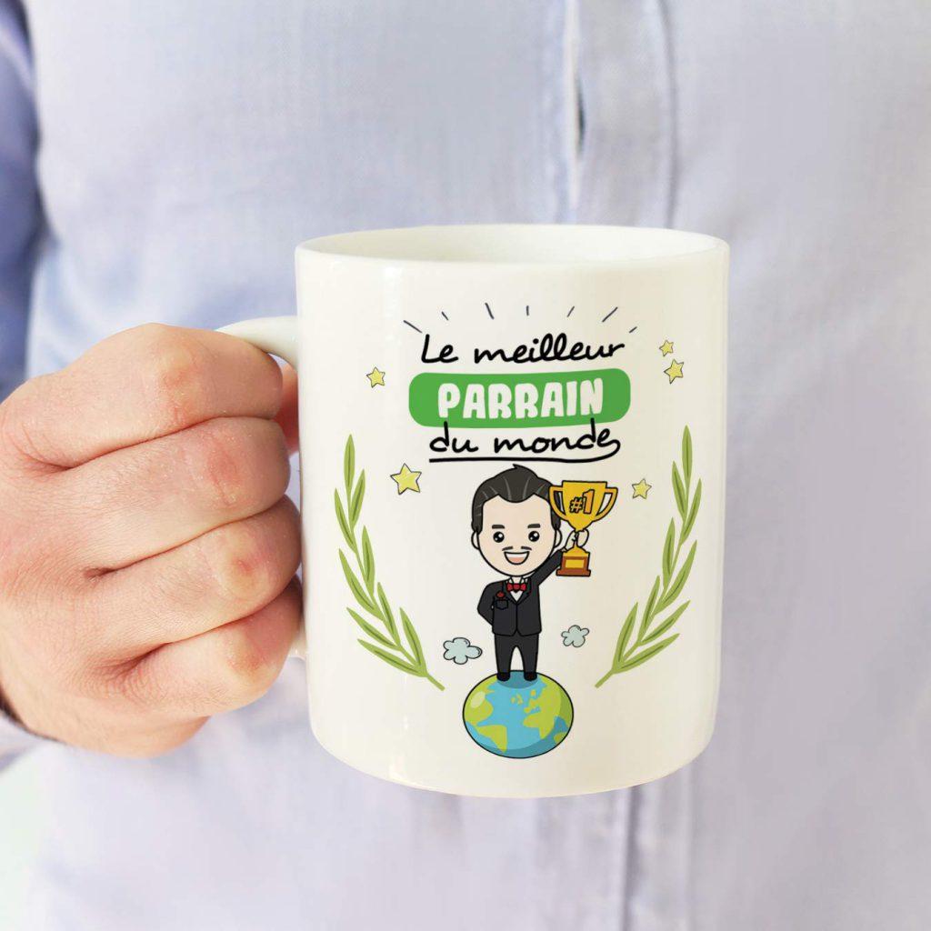 mug cadeau parrain
